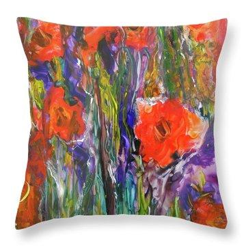 Bouquet 2 Throw Pillow