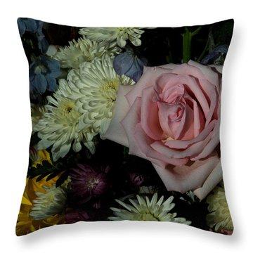 Bouquet For A Friend Throw Pillow