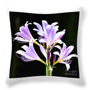 Bouquet In The Dark Throw Pillow
