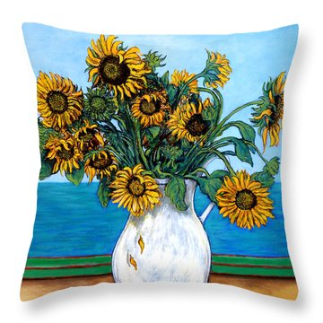 Bouquet Of Beauty Throw Pillow by Tom Roderick