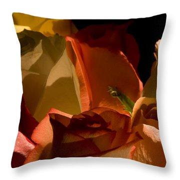 Bouquet Of Shadows Throw Pillow