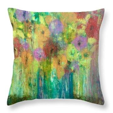 Bouquet Of Understanding Throw Pillow