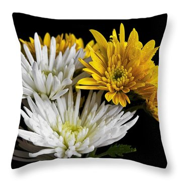 Bouquet Throw Pillow by Svetlana Sewell