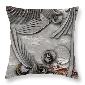 Bourgeoisie Creation Throw Pillow