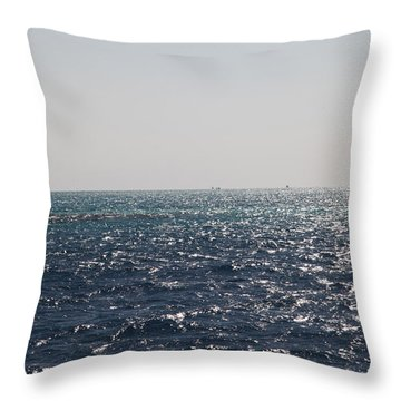 Throw Pillow featuring the photograph Bouy Oh Bouy by Jez C Self