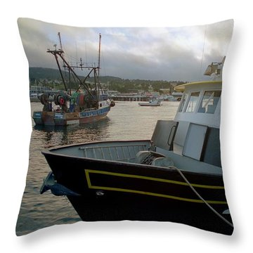 Bow And Stern Throw Pillow