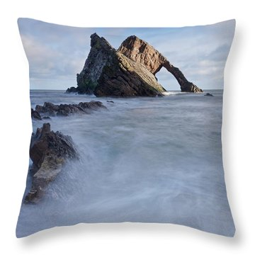Bow Fiddle Rock Throw Pillow