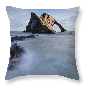Bow Fiddle Throw Pillow