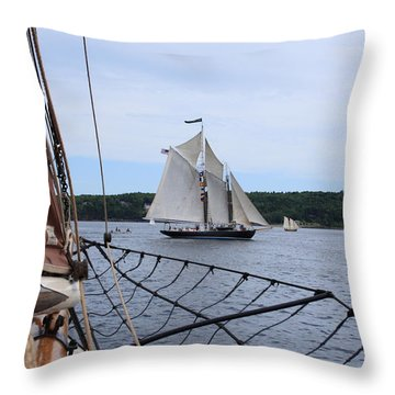 Bowditch Throw Pillow