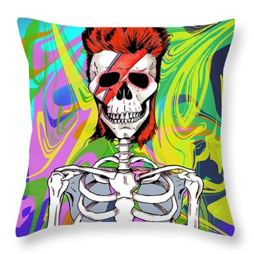 Bowie 1 Throw Pillow