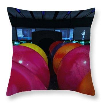 Bowling Balls #wraystagram #t Throw Pillow