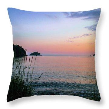 Bowman Bay Throw Pillow