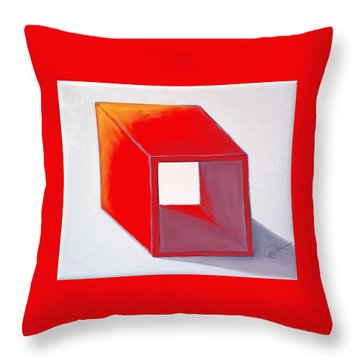 BOX Throw Pillow