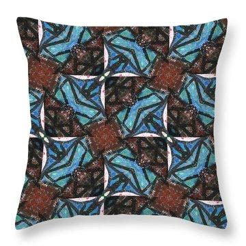Box Of Chocolates Throw Pillow by Maria Watt