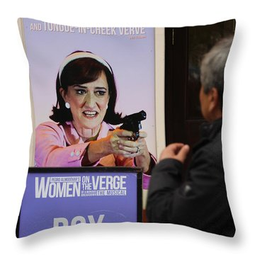 Box Office Throw Pillow