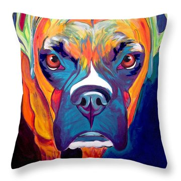 Boxer - Harley Throw Pillow