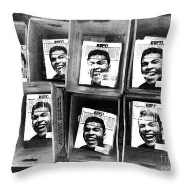 Boxers Boxes Throw Pillow