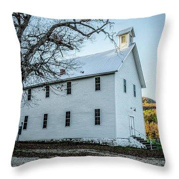Boxley Community Center Throw Pillow