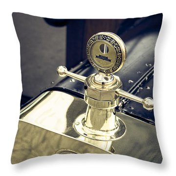 Boyce Motometer Throw Pillow by Caitlyn  Grasso