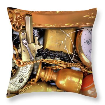 Boyhood Treasures 2 Throw Pillow