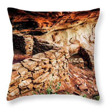 Boynton Canyon 08-012 Throw Pillow by Scott McAllister