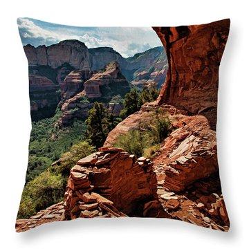 Boynton Canyon 08-160 Throw Pillow