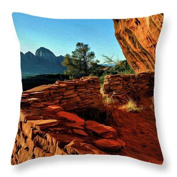 Boynton II 04-008 Throw Pillow by Scott McAllister