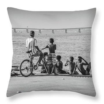 Boys From Brazil Throw Pillow