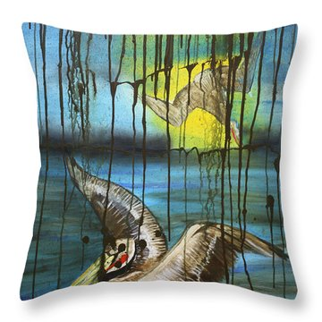 Bp Or You Throw Pillow by Tbone Oliver
