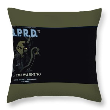 B.p.r.d. Throw Pillow