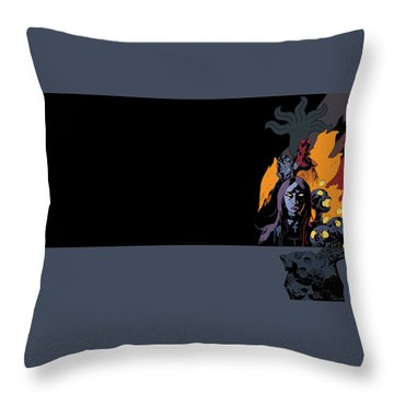 B.p.r.d. The Universal Machine Throw Pillow