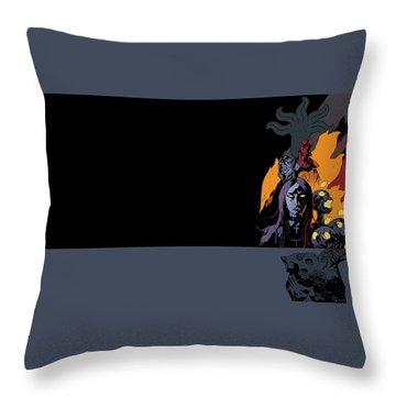B.p.r.d. The Universal Machine Throw Pillow