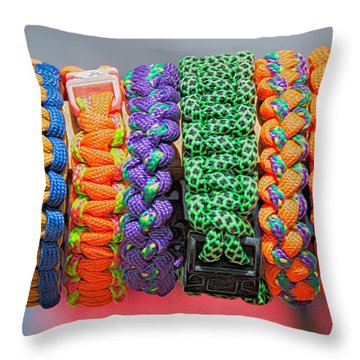 Bracelets Throw Pillow