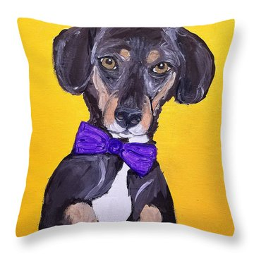 Brady Date With Paint Nov 20th Throw Pillow