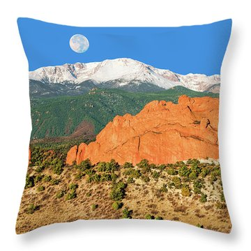 Brahma, The Hindu Creator God Throw Pillow
