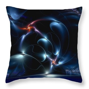 Brain Dancing Throw Pillow