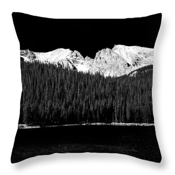 Brainard Lake - Indian Peaks Throw Pillow by James BO  Insogna