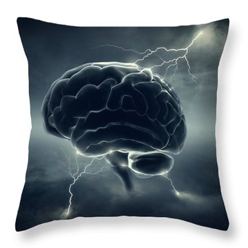 Intelligence Throw Pillows