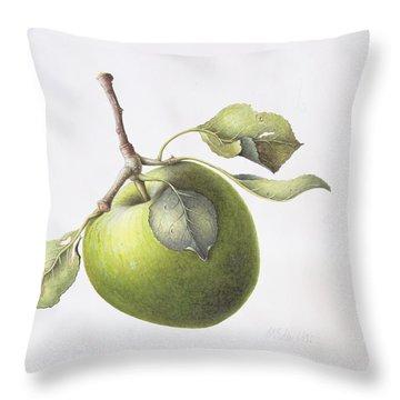 Bramley Apple Throw Pillow
