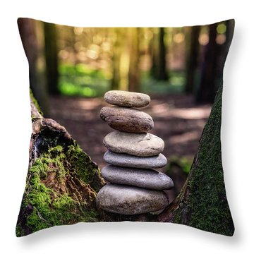 Throw Pillow featuring the photograph Brand New Day by Marco Oliveira