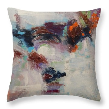 Brand New Vision Throw Pillow by Sue Furrow