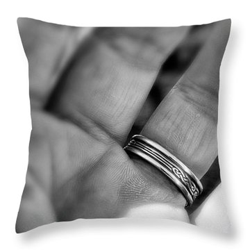 Branded Throw Pillow
