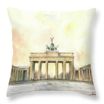 Brandenburger Tor, Berlin Throw Pillow