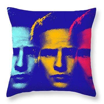 Brando Triple  Throw Pillow by Surj LA