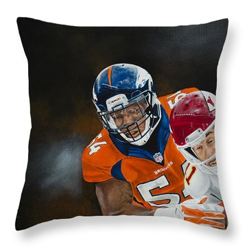 Brandon Marshall Throw Pillow
