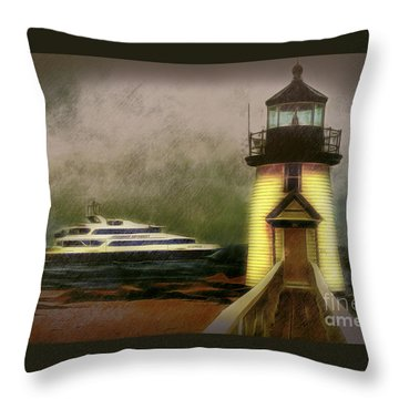 Brant Light II Throw Pillow