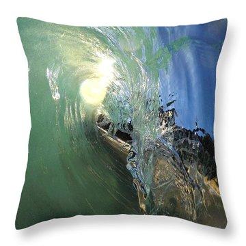 Brass Monkey Throw Pillow
