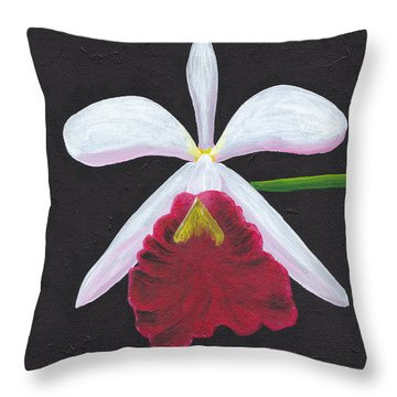 Brassalove Nodosa-rosita Throw Pillow