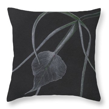 Brassalove Nordosa Orchid Throw Pillow