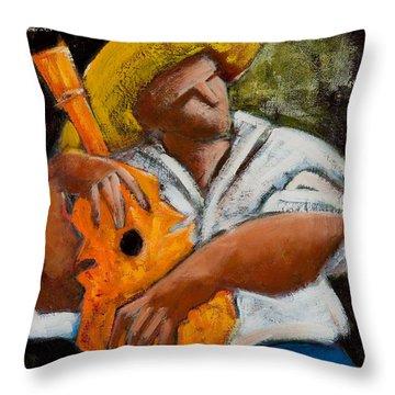 Bravado Alla Prima Throw Pillow